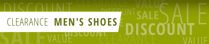 Men's Shoe Clearance