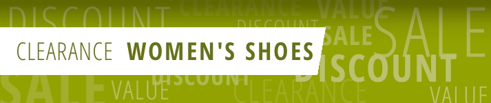 Women's Shoe Clearance