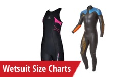 Wetsuit Charts