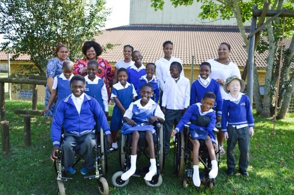 Ethembeni School Students